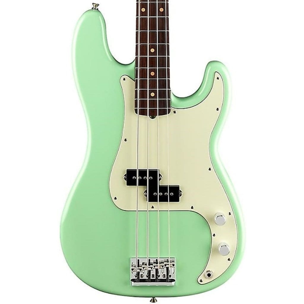 Fender FSR Limited Edition American Professional Precision Bass in Surf Green with Rosewood Neck