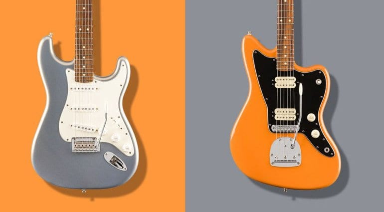 Fender Player Series with new Silver and Capri Orange finishes