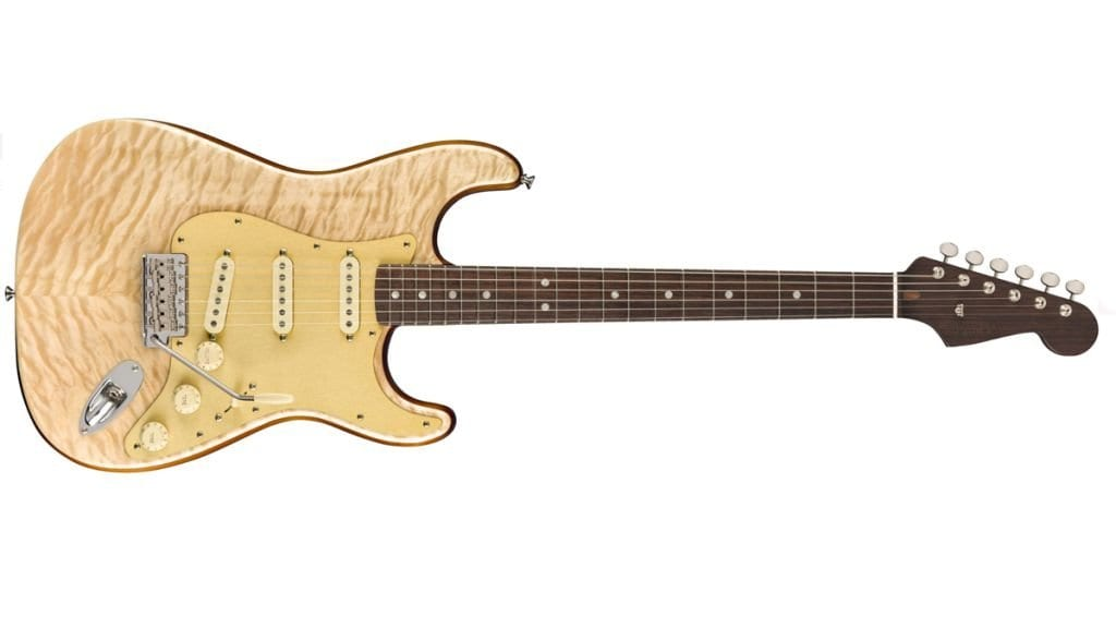 Fender Quilt Maple Top Stratocaster