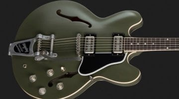 Gibson Chris Cornell ES-335 Tribute - 250 available worldwide