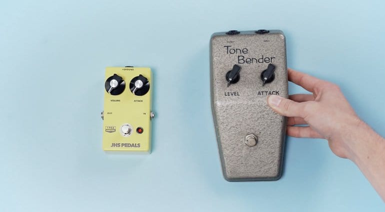 JHS Tone Bender 1.5 - Not just any old fuzz!