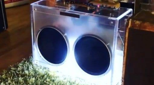 Joe Bonamassa Lucite Fender Twin-Amp on Instagram