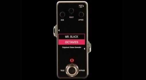 Mr Black Mini Octaves pedal