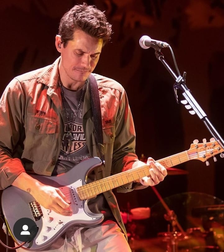 John Mayer PRS Silver Sky maple neck