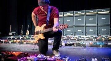 Rob Scallon breaks Guinness World Record for guitar effect pedalboard