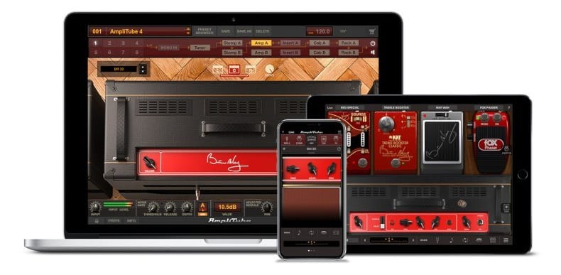 IK Multimedia Brian May for Mac, PC, iPad and iPhone