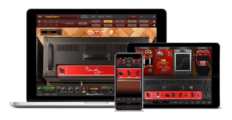 IK Multimedia Brian May for Mac, PC, iPad and iPhone