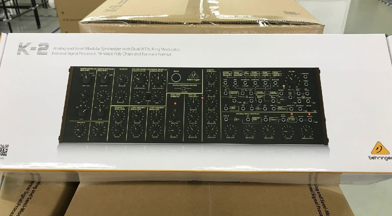 Behringer K-2 semi-modular analog synthesizer inspired by