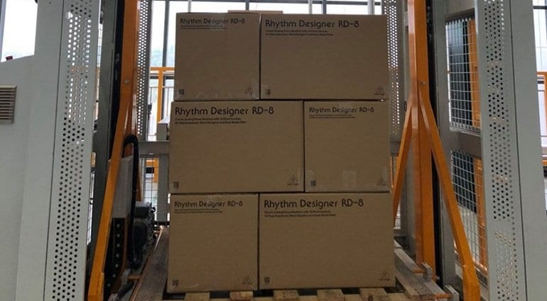 behringer rd-8 packaging