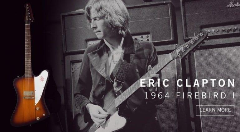 Gibson Custom Shop Eric Clapton 1964 Firebird I