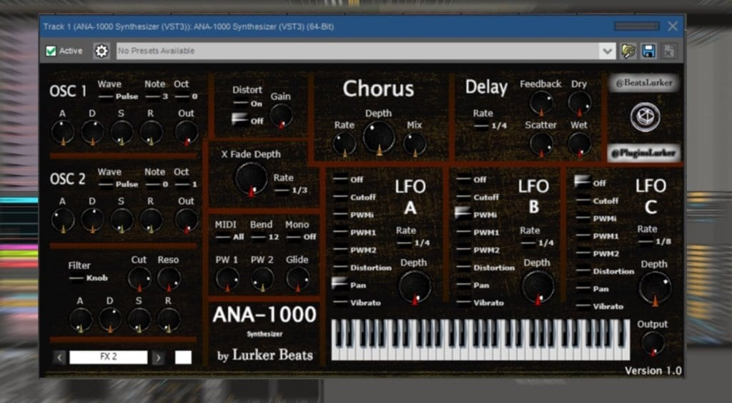 Lurker Beats ANA-1000