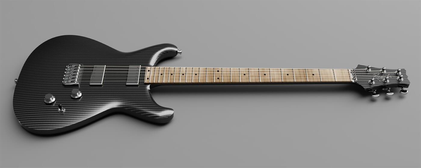 Rubato Guitar Carbon Fibre Lassie