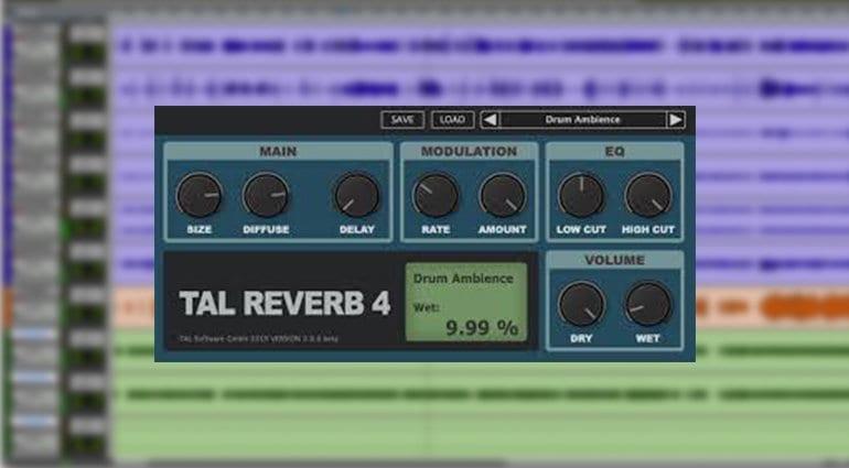 togu audio tal4 reverb