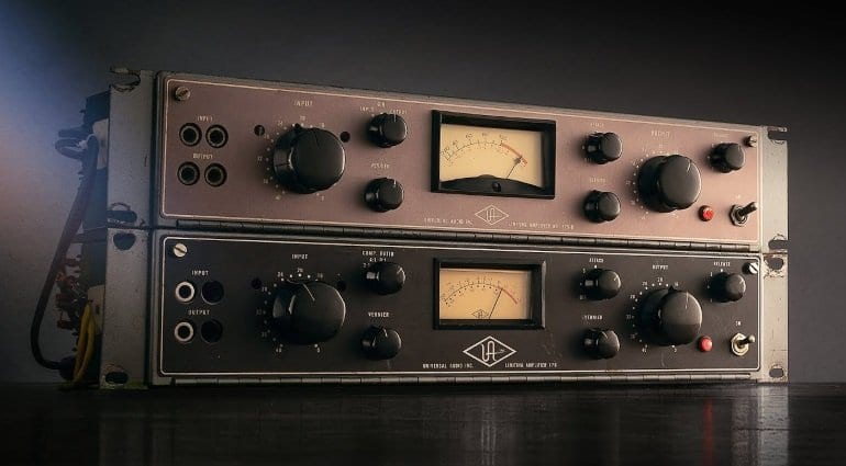 UAD 9 10 0 update brings rare UA 175B/176 tube comps & DSP