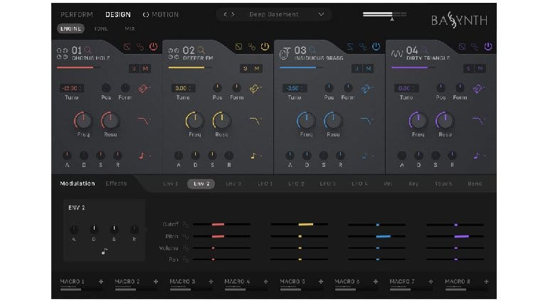Wave Alchemy BASSYNTH Sound Design page
