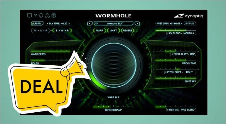 Zynaptiq Wormhole deal