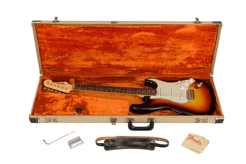 1965 Three Colour Sunburst Stratocaster