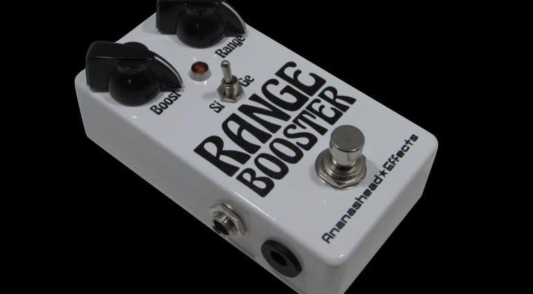 Ananashead FX Range Booster - Sabbath style tone?