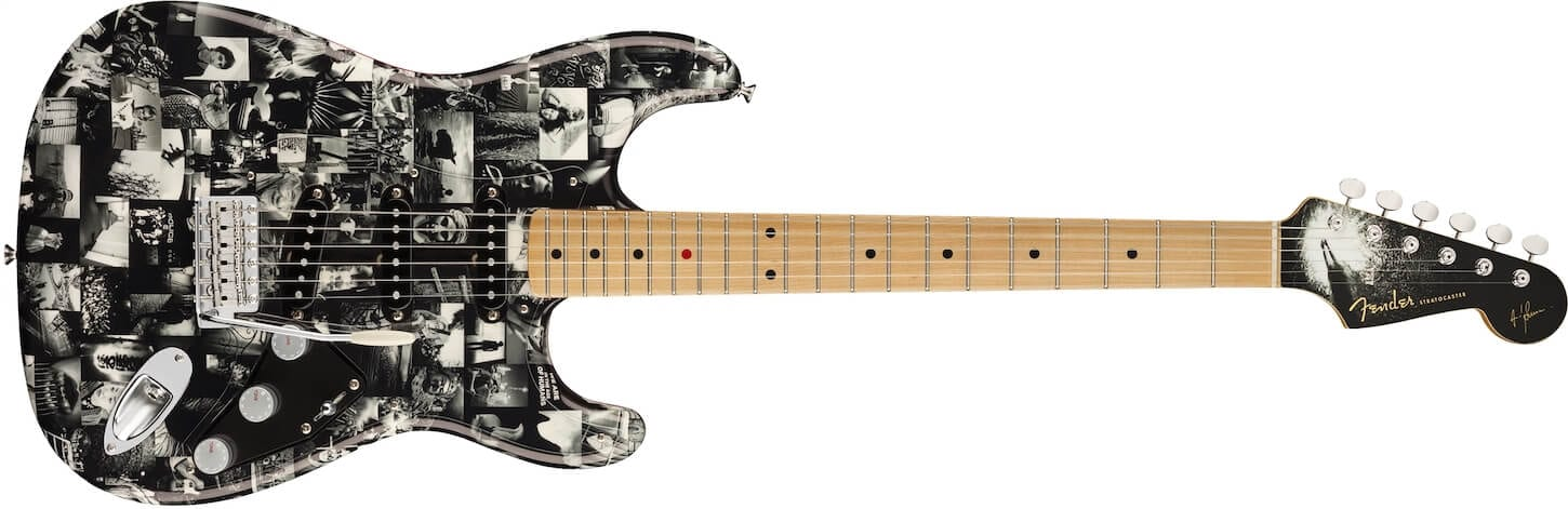 Andy Summers Monochrome Strat