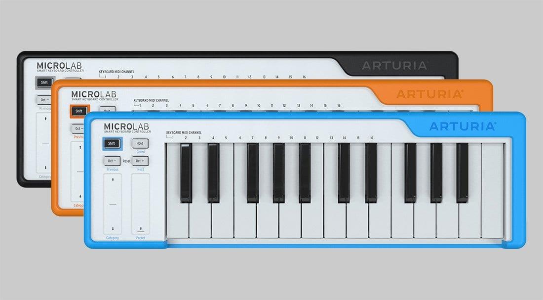 Arturia Microlab keyboard controller: 25 keys for making