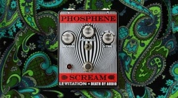 Death By Audio and the Black Angels collaborate on Phosphene Scream