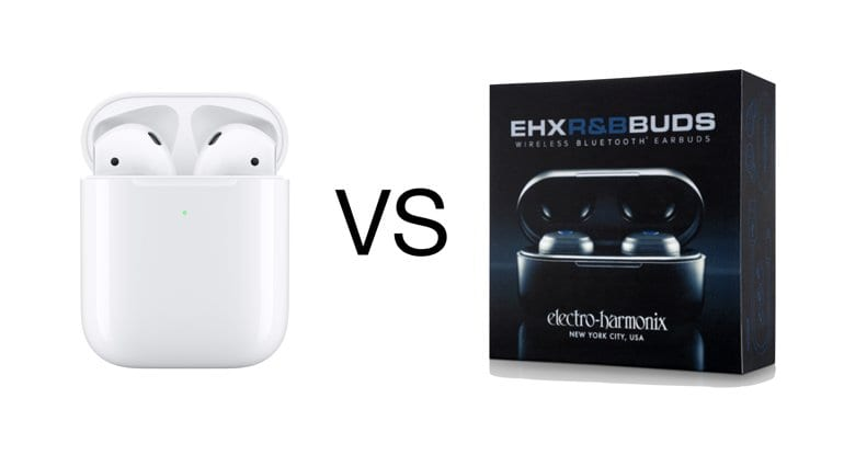 EHX R&B Buds vs Apple AirPods