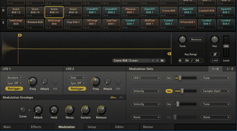 Spice up your electronic snare! It's easy with these tricks.