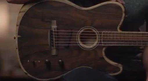Fender American Acoustasonic Telecaster Ziricote