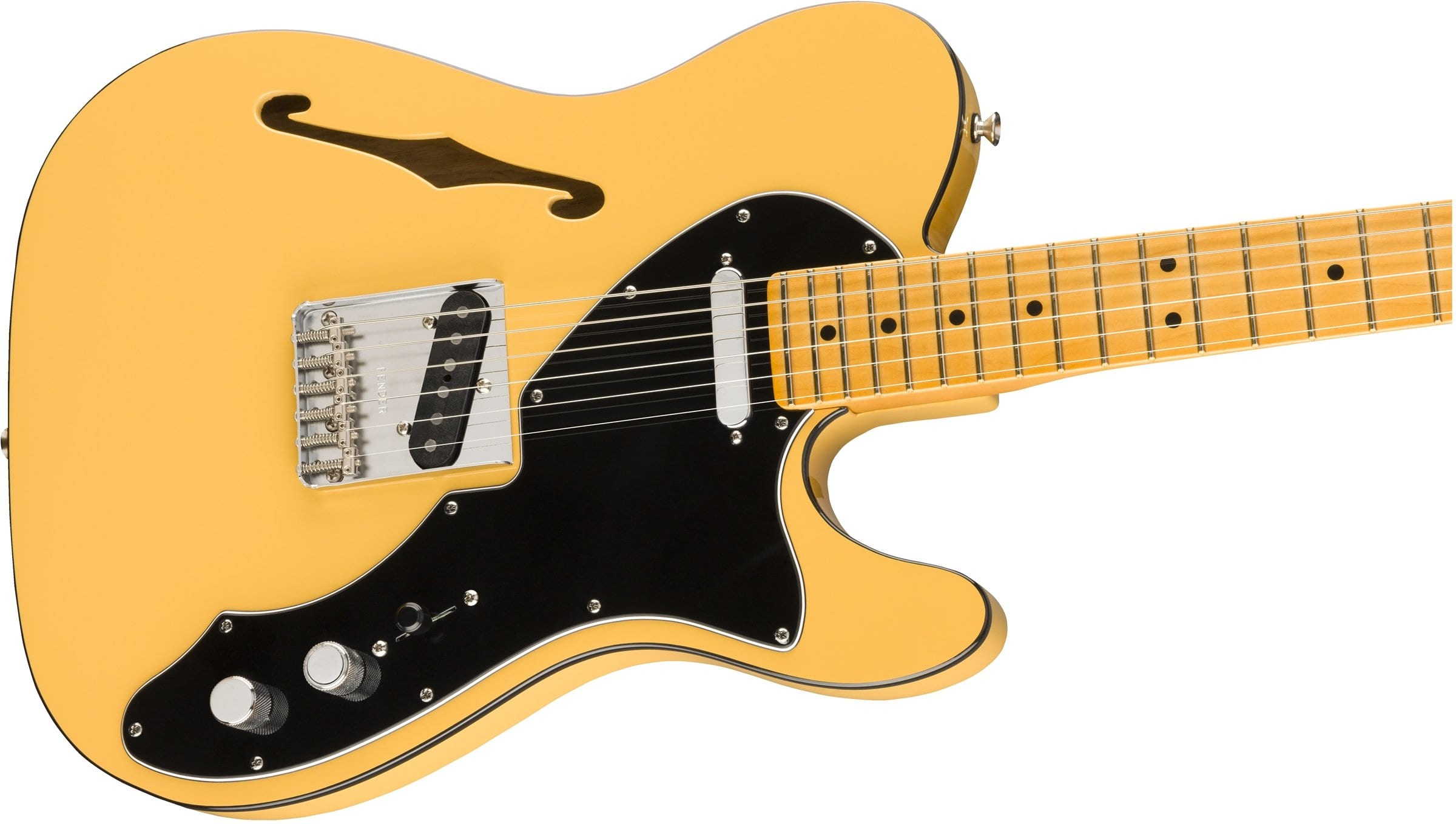 Fender Britt Daniel Tele Thinline with six saddle bridge