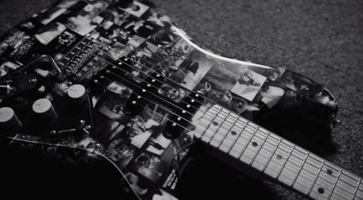 Fender Custom Shop works with Leica to create the Andy Summers Monochrome Strat