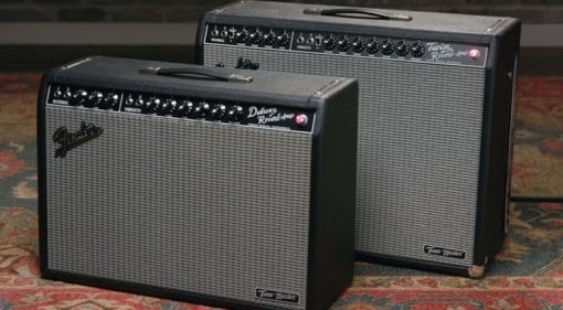 Fender Tone Master Deluxe Reverb and Twin Reverb - Digital guitar amps