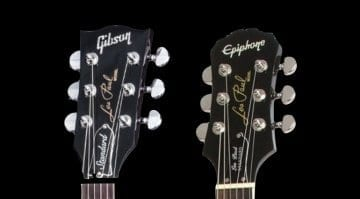 Gibson could be putting their classic headstock shape on Epiphone at last!