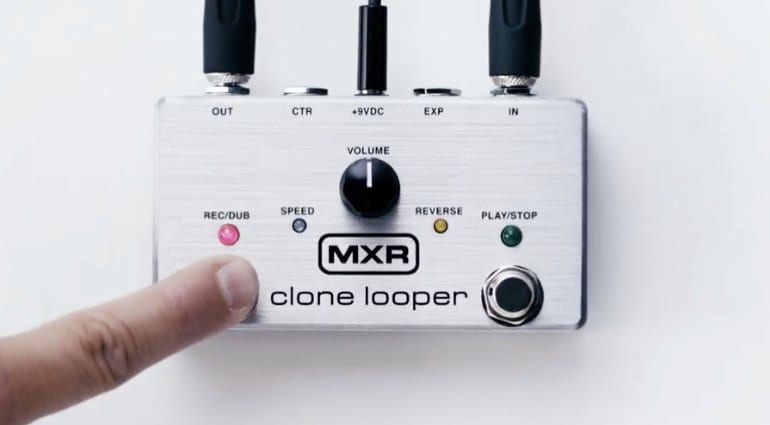 MXR Clone Looper - Six minutes of looping in one pedal