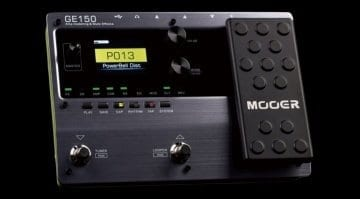 Mooer Audio GE150 amp modelling and multi-effects unit