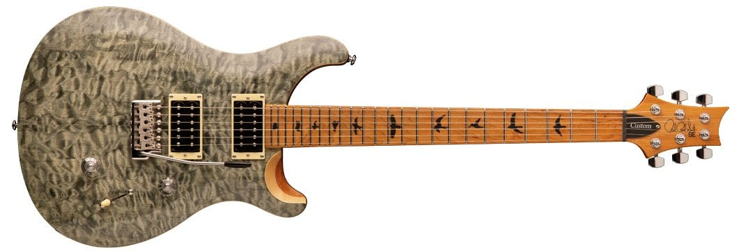 PRS Limited Run SE Custom 24 Roasted Maple Guitars in US at last!