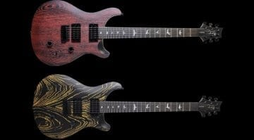 PRS SE Sandblasted Swamp Ash limited run announced