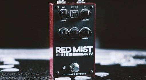 Redbeard Effects Mikey Demus Red Mist MKIV distortion