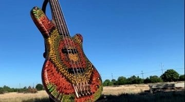 Burls Art Reggae Bass