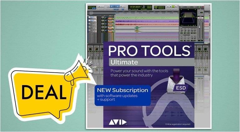 Save on Avid Pro Tools