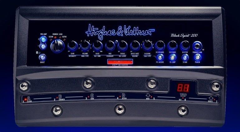 Hughes % Kettner Black Spirit 200 floor pedal amp