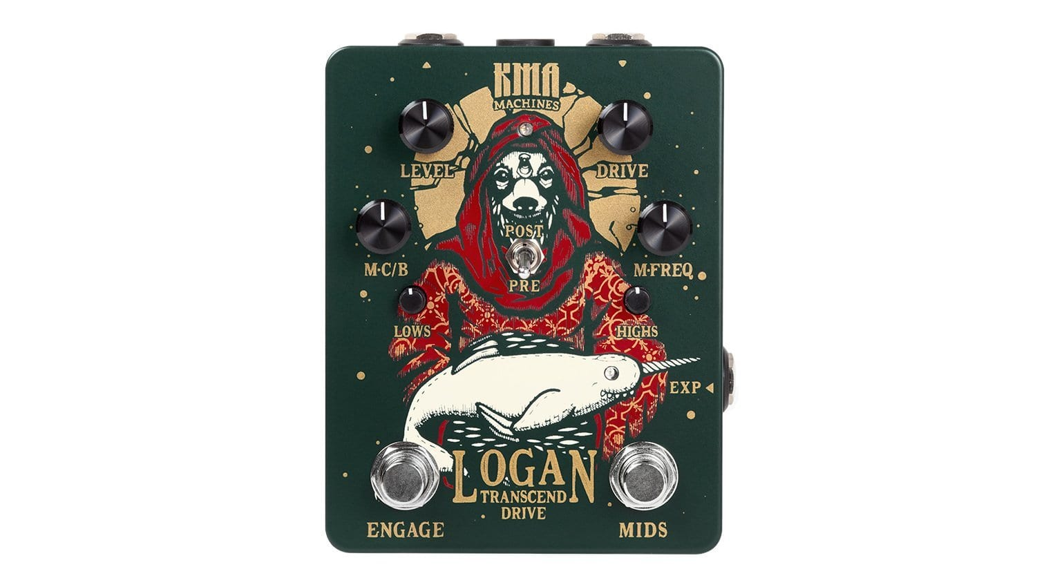 KMA Audio Machines Logan: A flexible boutique drive pedal