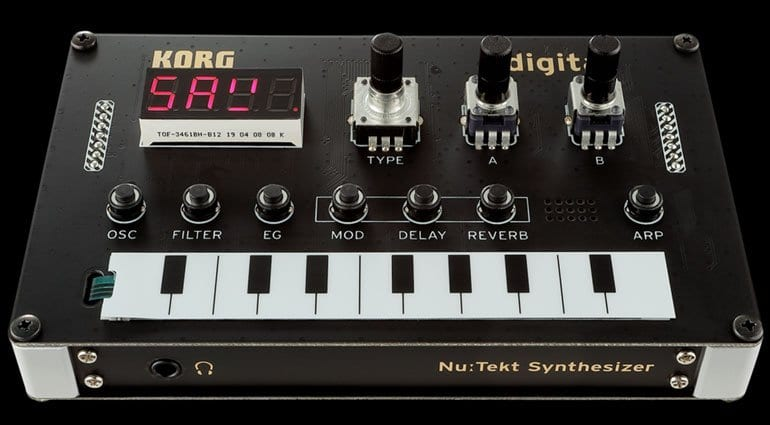 Korg Nu:Tekt NTS-1 digital synth kit is a Minilogue XD