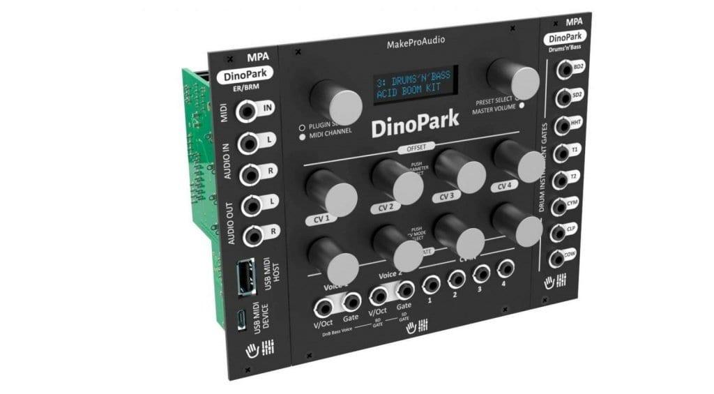 MakeProAudio Dino Park Eurorack