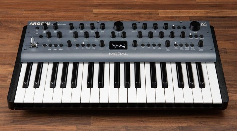 Modal introduces ARGON8 polyphonic wavetable synthesizer