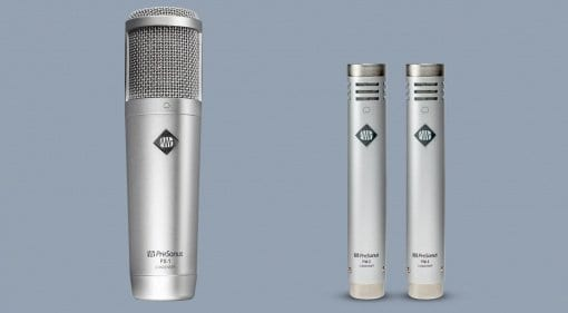 Presonus PX-1 and PM-2 microphones