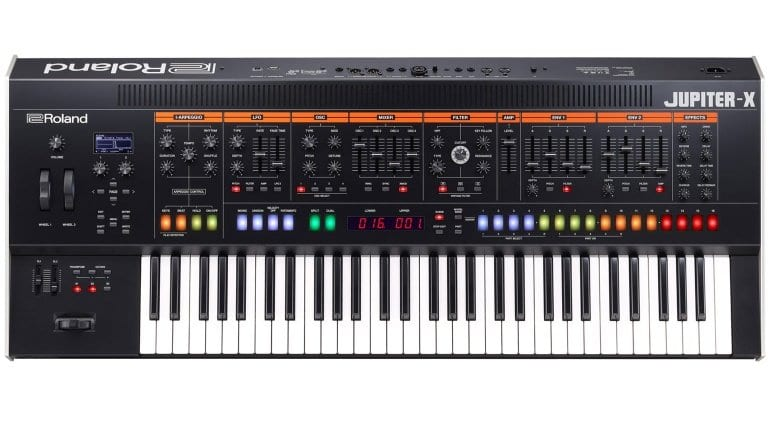 Roland announce Jupiter-X Flagship synthesizer and Jupiter