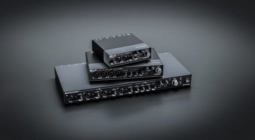 Steinberg UR22C, UR44C and UR816C audio interfaces