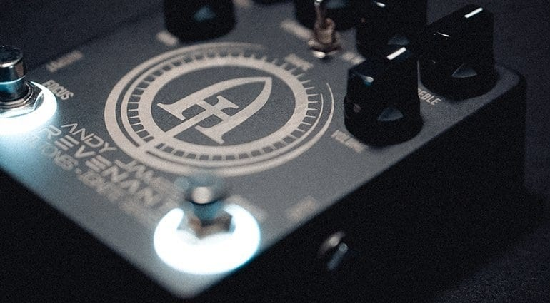 STL Tones launches Andy James signature Revenant pedal