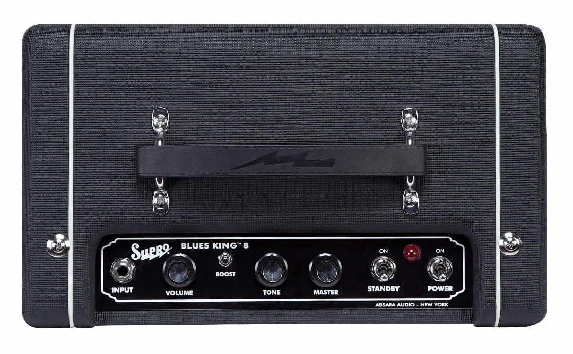 Supro Blues King 8 top panel