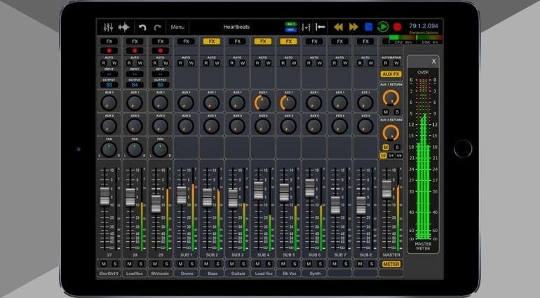 which ipad to choose for music production